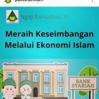 Meraih Keseimbangan Melalui Ekonomi Islam