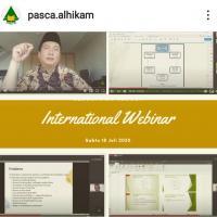 Sukses Selenggarakan Webinar Internasional, Pascasarjana Canangkan Kelas Internasional.